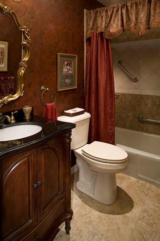 Retrofitting existing bathrooms